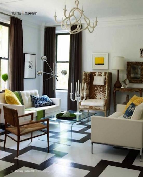 Eclectic Living Room Nest Design Studio Blog